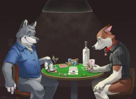 Commission: Dire Straights by Keto-Galin