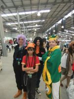 Manifest 2012 - Syaoran Li, and DragonBall Z group by fulldancer-alchemist