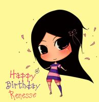 Happy Birthday Renesse by xjanicax