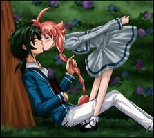 PT:FxA - Beyond the Rose Hedge by amako-chan