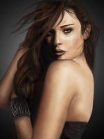 Lea Michele - Glee - Painting by wearedesign