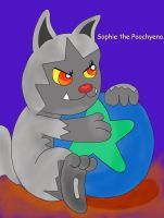 Sophie the Poochyena by YoshiGamerGirl