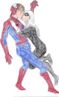 Spidey kiss by Pronon1990