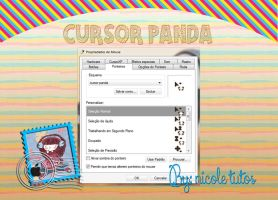 Cursor Panda By Nicole Tutos by izaela19