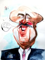 Doctor Phil Caricature by aaronphilby