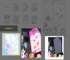 January Bronycon Poster Progress by Timon1771