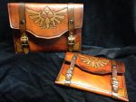 Large and small Zelda tablet cases by Skinz-N-Hydez