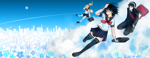 Facebook Page Cover by irodorinoaya