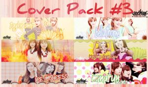 Cover Pack #3 by Sochan by sophie-ddh