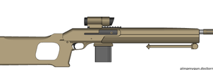 Marksman Rifle by AtholTheDestroyer