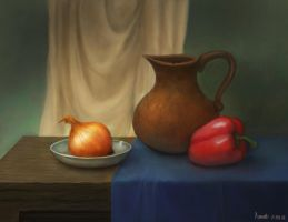 Still life by FlerPainter