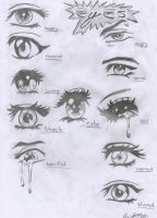 Anime Manga Eyes by Jamezzz92