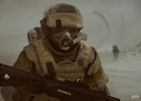Soldier 3 by ProxyGreen