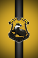 Hufflepuff iPhone wallpaper 2 by technoKyle