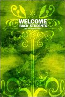welcome back poster by kenji2030