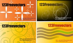 Free Vector Visiting Card by 123freevectors