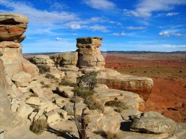 Sandstone and Iron by travis-tennies