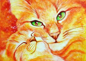 Kitty Love - Mothers Day gift by Nicole-Marie-Walker