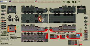M642 Mobile Armoured Command Centre 'Big Mac' by Munners