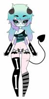 Demon girl adoptable CLOSED by AS-Adoptables