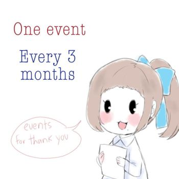 One event every 3 months by Choulaphone