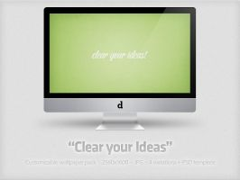 Clear your Ideas + PSD by YaroManzarek