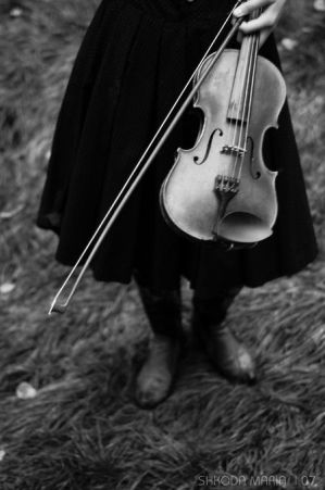 the violin by MotyPest