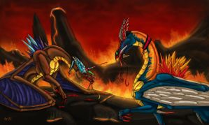 Going down in fire -Trade by Aarok