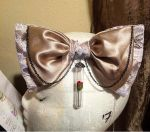 Beauty And the Beast Inspired HairBow by Mystierium1459