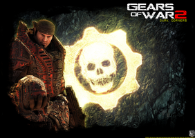 Wallpaper Gears of War 2 - Dark Corners by DecadeofSmackdownV3