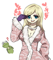 Humanized miss piggy by NewJM