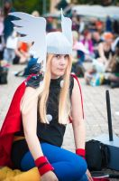 Thor cosplay Uppcon 11 by SweBJ