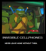 Invisible Cellphones by JesusFreak-4Ever