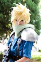 Cloud Strife From Final Fantasy Crisis Core by Akira0617
