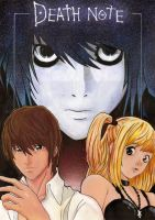 Death Note Painting by westleyjsmith