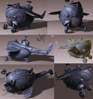 chopper wip4 by sittingducky