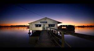 Oyster Hut by CainPascoe