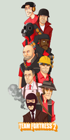 TF2 Group RED by SuperKusoKao