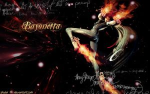 Bayonetta Wallpaper by shulaii