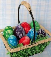 Marbled Easter Eggs by Kitteh-Pawz