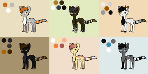 Adoptable Sheet 13 by Adrakables