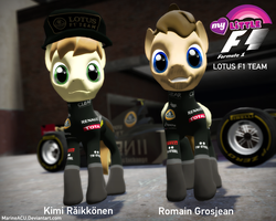 My Little F1: Lotus F1 Team preview by MarineACU