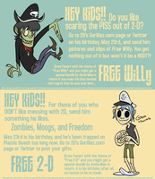 Free Willy or Free 2D: Contest by anniemae04