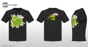 Next Planet T-Shirt 2 by imonedesign