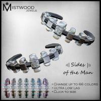 Sides of the Man bracelets by Aedil