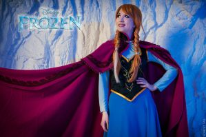 Frozen Anna by Nastarelie