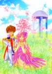 Suzaku and Euphie by chirumu
