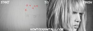 How To Draw Hair by HowToDrawItAll