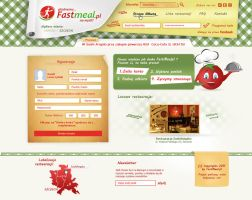 Fastmeal.pl - design by MYeSportdesign