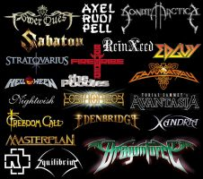 Favorite Bands collage by B737TheAirliner